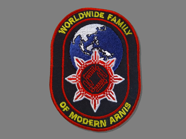 Aufnäher WFMA - Worldwide Family of Modern Arnis